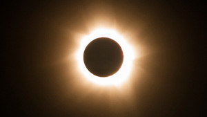 Total solar eclipse from Cape Tribulation, Queensland